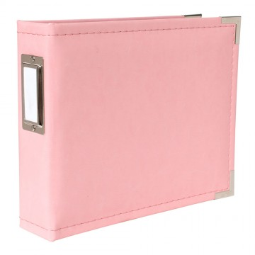 Купить Альбом Classic Leather Pink, We R Memory Keepers, 15×15см, 30893-5