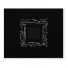 Альбом Black with Embroidered Frame, American Crafts, 30х30 см, 76186