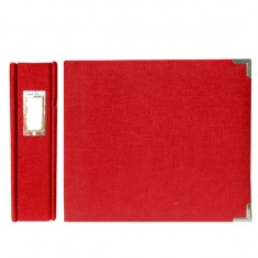 Альбом Linen Post Album Pomegranate, 30х30 см, WeRMemory Keepers, 70372-3
