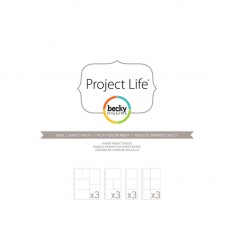 Файлы для альбома Small Variety Pack 1, Project Life, American Crafts, 12 шт, 380024