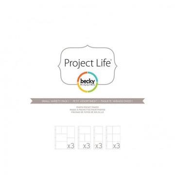 Купить Файлы для альбома Small Variety Pack 1, Project Life, American Crafts, 12 шт, 380024