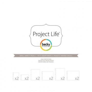 Купить Файлы для альбома Small Variety Pack 2, Project Life, American Crafts, 12 шт, 380025