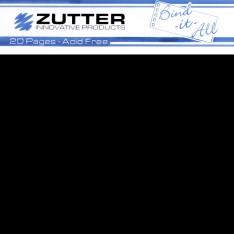 Страницы для создания альбома - 20X20, черные, ZT2743