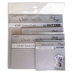 Обложки для создания альбомов - Zutter Bind-It-All прозрачные, 10×10, ZT2790