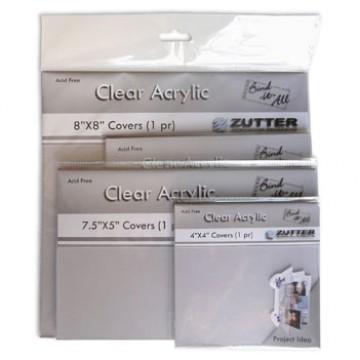 Купить Обложки для создания альбомов - Zutter Bind-It-All прозрачные, 10×10, ZT2790