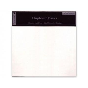 Купить Обложки для создания альбомов - Dovecraft, 15×15, белые, DCZT03