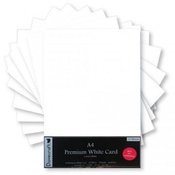 Купить Набор картона Premium White Card, Dovecraft, DCBS65