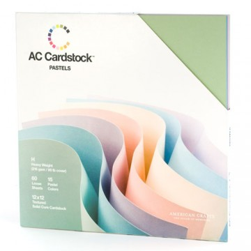 Купить Набор картона Pastels, American Crafts, 71248