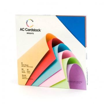 Купить Набор картона Brights, American Crafts, 30х30 см, 71250