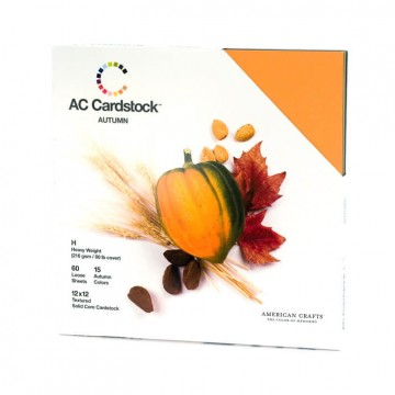 Купить Набор картона Autumn, American Crafts, 30х30 см, 71255