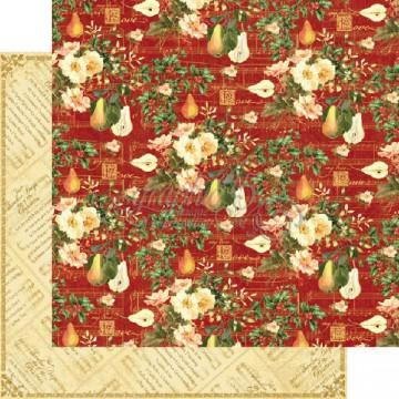 Купить Лист бумаги My True Love, 12 Days of Christmas, Graphic 45, 30 × 30 см, 4500728