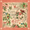 Купить Лист бумаги Calling Birds, 12 Days of Christmas, Graphic 45, 30 × 30 см, 4500723