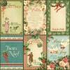 Купить Лист бумаги Holly and Ivy, 12 Days of Christmas, Graphic 45, 30 × 30 см, 4500730