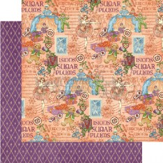 Лист бумаги Sugar Plum Fairy, Nutcracker, Graphic 45, 30 × 30 см, 4500556