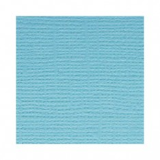 Лист текстурированного картона Vibrant Blue, Bazzill Basics, 30×30 см, BZCL797