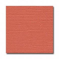 Лист текстурированного картона Sun Coral, Bazzill Basics, 30×30 см, BZCL332