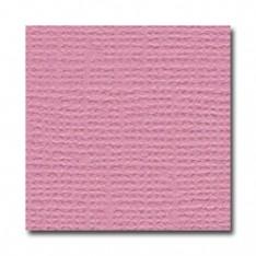 Лист текстурированного картона Vintage Pink, Bazzill Basics, 30×30 см, BZCL139