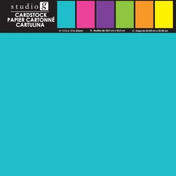Купить Набор картона Bright, Studio G, 30х30 см, VPP0003-2
