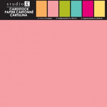 Купить Набор картона Heritage, Studio G, 30х30 см, VPP0003-3