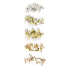 Брадсы Tres Elegant Glitter Brads, We R Memory Keepers, 41756-9