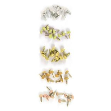 Купить Брадсы Tres Elegant Glitter Brads, We R Memory Keepers, 41756-9