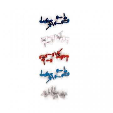 Купить Брадсы Yankee Doodles Glitter Brads, We R Memory Keepers, 41823-8