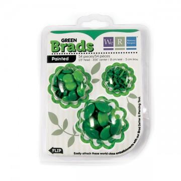 Купить Брадсы Basic Brads Painted – Green, 42043-9