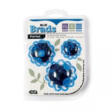 Купить Брадсы Basic Brads Painted – Blue, 42045-3