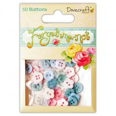 Пуговицы Forget Me Not, Dovecraft, DCBN010