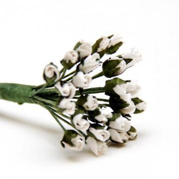 Купить Букет роз White Minute Rosebuds, B1699WH