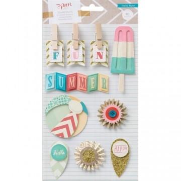 Купить Объемные наклейки Crate Paper - The Pier, American Crafts, 683201