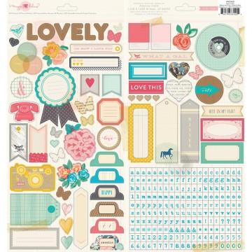 Купить Наклейки Maggie Holmes – Styleboard, Journaling/Title, 683420