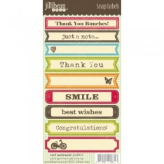 Лейбы Card Sentiments Soup Labels, Jillibean Soup, JBE8834