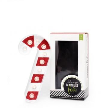 Купить украшение Marquee Kit - Plastic - Candy Cane, Heidi Swapp, 312556