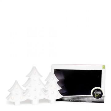 Купить украшение Marquee Kit - Plastic - Trees, Heidi Swapp, 312554