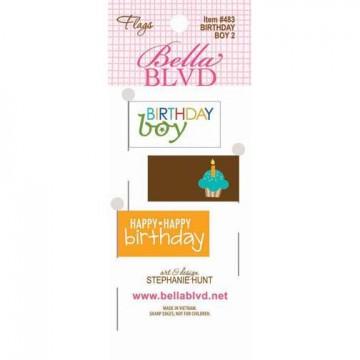 Купить Флажки Birthday Boy 2 Flags, Bella BLVD, 483
