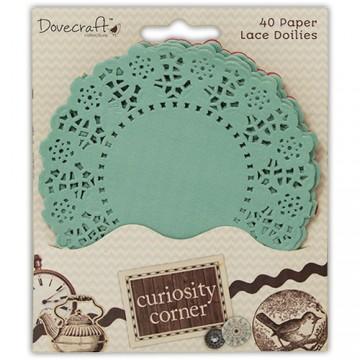 Купить Бумажные салфетки цветные Curiosity Corner, Dovecraft, DCDO005