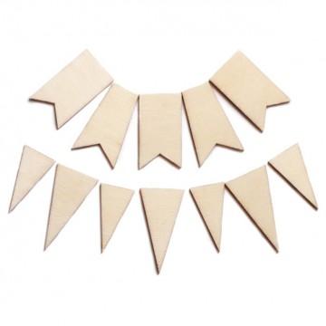 Купить Деревянные фигурки Wood Veneer, Flags/Pennants, Studio Calico, 101191