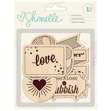 Купить Деревянные фигурки Shimelle, American Crafts, 368175
