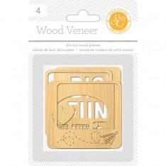 Деревянные карточки Wanderlust, Studio Calico, 331962