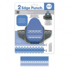 Бордюрный дырокол 2 Edge Punch – Raindrop, We R Memory Keepers, 71324-1