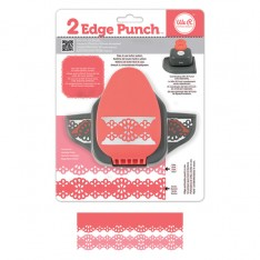 Бордюрный дырокол 2 Edge Punch – Doily, We R Memory Keepers, 71323-4