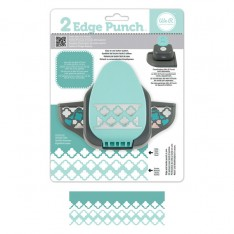 Бордюрный дырокол 2 Edge Punch – Trellis, We R Memory Keepers, 71322-7