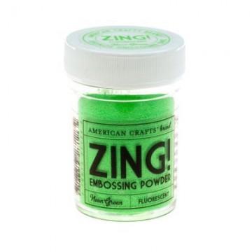 Купить Пудру для эмбоссинга Neon Green Zing! embossing powder, 27126