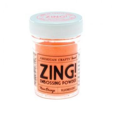 Купить Пудру для эмбоссинга Neon Orange Zing! embossing powder, 27128