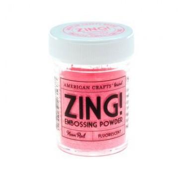 Купить Пудру для эмбоссинга Neon Red Zing! embossing powder, 27167