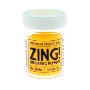 Купить Пудру для эмбоссинга Neon Amber Zing! embossing powder, 27169
