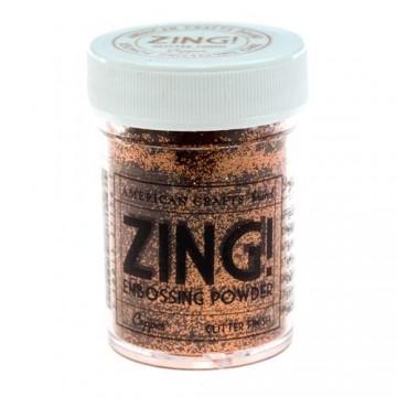 Купить Пудру для эмбоссинга Copper Glitter Zing! embossing powder, 27156