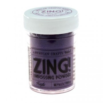 Купить Пудру для эмбоссинга Metallic Purple Zing! embossing powder, 27163