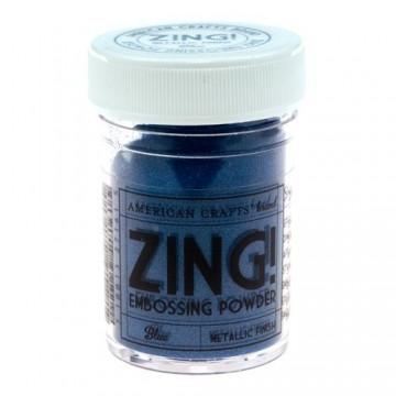 Купить Пудру для эмбоссинга Metallic Blue Zing! embossing powder, 27161